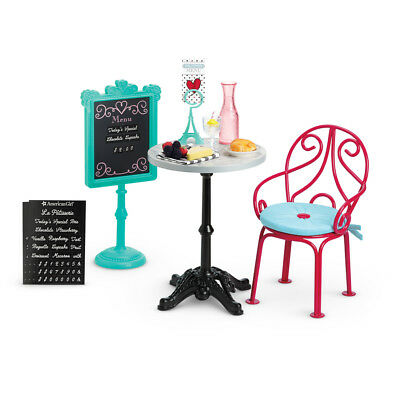 American Girl DOLL GRACE THOMAS BISTRO SET  RETIRED New in Box