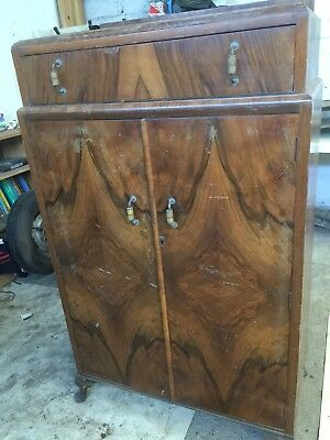 Walnut Antique Cupboard