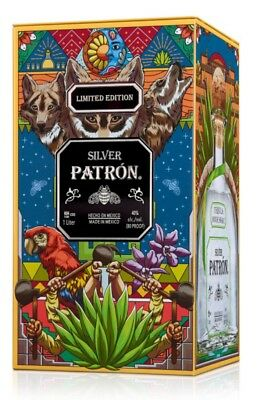 Patron Tequila Mexican Heritage 2018 Collector Tin By Artist Joe B New!!