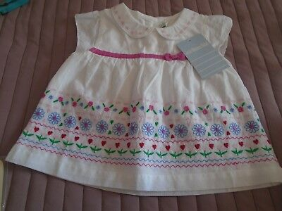JoJo Maman Bebe baby girls dress 6-12 months
