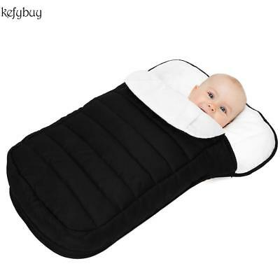 Schlafsack Winter Fußsack für Kinderwagen Baby Fleece Warm Ultralight Universal