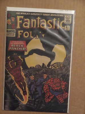 MARVEL'S GREATEST COMICS FANTASTIC FOUR #52 -- 2006 reprint of 1st BLACK PANTHER