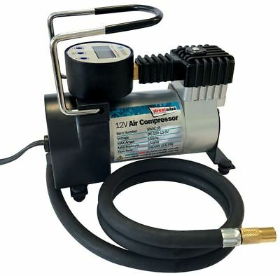 Metal Cased Digital Display Air Compressor Tyre Inflator Pump 12v