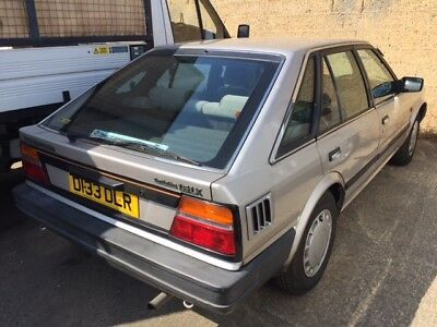 Nissan bluebird 1.6 cc with only 2 owners