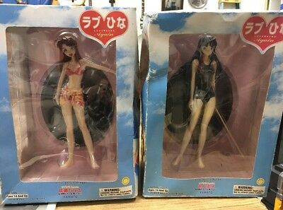 NEW Love Hina Again PVC Figure Yamato Lot of 2 USA SELLER Damaged Boxes