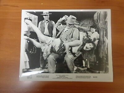 Vintage Glossy Press Photo Movie McLintock! John Wayne Maureen O'Hara