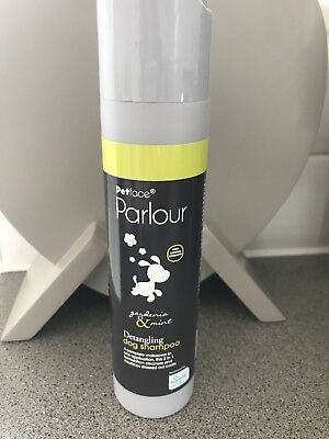 Petface parlour Dog Shampoo Gardenia and Mint 250ml