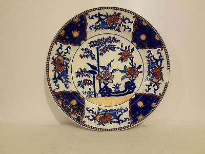 RARE ANTIQUE ROYAL WORCESTER VITREOUS DISPLAY PLATE - 1874 ref. #9