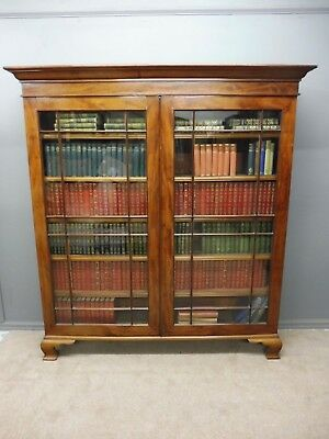 Large Antique Victorian Mahogany Bookcase Circa 1880- 1900