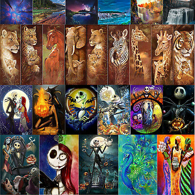 UK Animal Full Drill 5D DIY Diamond Painting Embroidery Art Craft Kit Home Decor