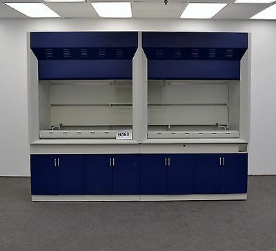 Laboratory Chemical 10' Fume Hood with Epoxy Top Surface H463-