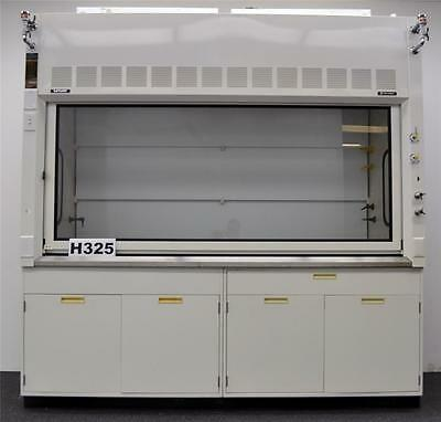 Fisher Hamilton Safeaire 8' Laboratory Fume Hood w/ Base Cabinets