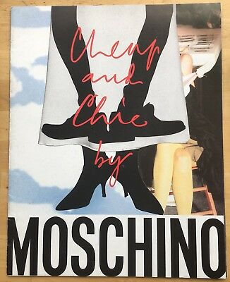 Moschino Cheap and Chic Lookbook 1996