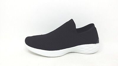 New! Womens Skechers YOU 14951 – Black/White 129D pm