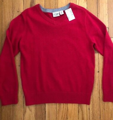 Children's Place Red VNeck Sweater Size 5/6 NWT