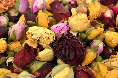Mixed Rose Buds, Wedding Decor, Dried Flower Craft, Potpourri, Soap Candle, Bath