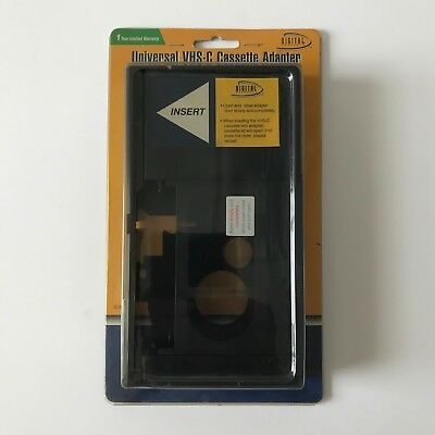 Digital Concepts Universal VHS-C Cassette Adapter (VC-14) - NEW SEALED