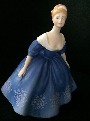 Royal Doulton Lady Figurine NINA, H N 2347 Bisque Matte, Dated 1968