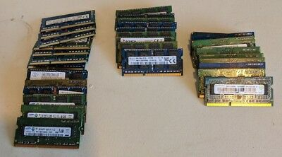 VARIOUS BRAND LAPTOP RAM 1GB 2GB 4GB 8GB DDR3 PC3L 10600 12800 NOTEBOOK Memory