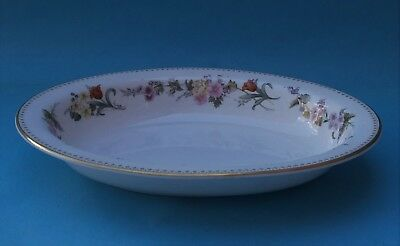 Bone China Wedgwood Mirabelle Oval Open Serving Dish