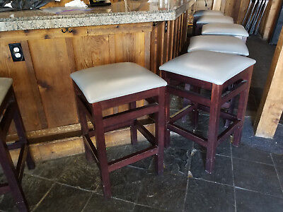 Restaurant Bar Stools By Seating Masters - Premium Oversized Solid Wood