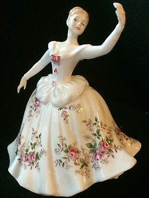 """Royal Doulton Lady Figurine """"SHIRLEY"""", H N 2702, Dated 1984"""