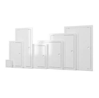 White Access Panels with Handle Plastic Revision Door Inspection Service Point