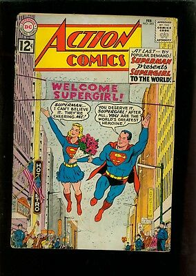 Action Comics 285 Poor - Missing Centerfold