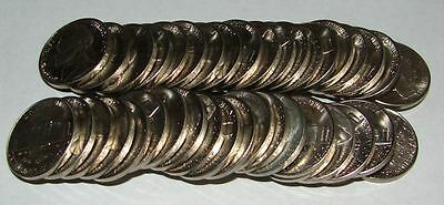 1964 P Uncirculated 5 Cent Nickel Roll Of 40  Mint State Coins