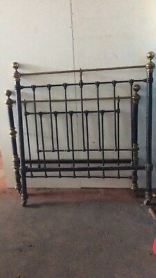 Antique Brass 3/4 Bed