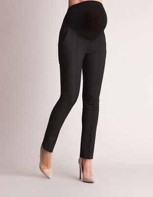 Brand new seraphine black maternity trousers size 14