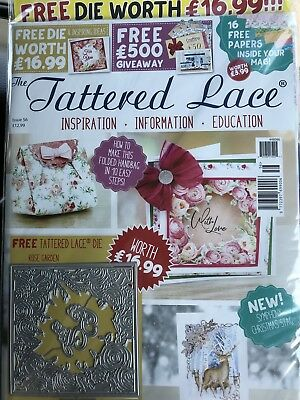 Tattered Lace Magazine Issue 56. Latest One Out !!!