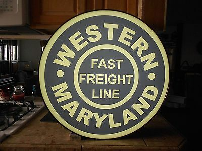 Western Maryland Lighted Sign