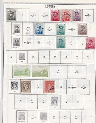 Serbia Stamps Ref 14558