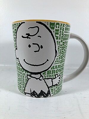Charlie Brown Peanuts World Collection Coffee/ Hot Chocolate Mug Collectible New