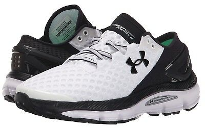 promo code f987c 1183e UNDER ARMOUR UA Speedform Gemini 2 Men's Running Sneaker Shoe White Black  Rare