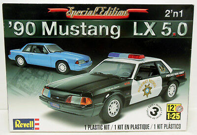Revell 1990 Mustang LX 5.0 with Resin Pro Street Parts