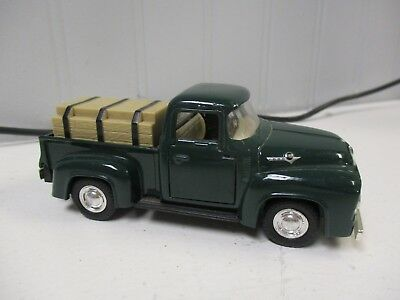 Road Champs 1956 Ford F100 Pickup Truck Scale Diecast
