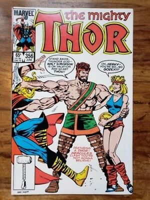 The Mighty Thor #356, Marvel, Hercules appearance