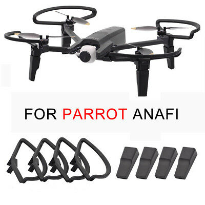 Expansion Landing Gear+Propeller Guard Protective Kit For Parrot Anafi Drone FPV