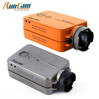 RunCam 2 HD 1080P Wide Angle Mini FPV Video Camera With Battery RC Racing Drone