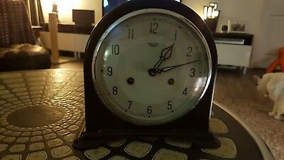 Smiths Enfield Vintage Bakelite Clock (very Clean)  serviced