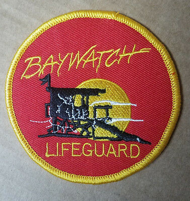 Baywatch Lifeguard Patch 3 1/2 inches wide