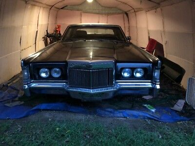 1969 Lincoln Continental  1969 Continental Mark III