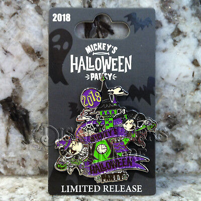 Disney Parks & Disneyland Mickey's Halloween Party 2018 Event Pin