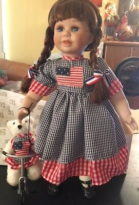 Heritage Signature Collection - Star Spangled Susie Doll (Red, White & Blue)