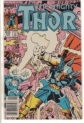Thor #339 (1984, Marvel) First Appearance of Ray Bill's hammer - Stormbreaker