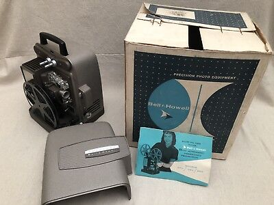 Vintage Bell & Howell Autoload Model 245 BA 8mm Film Movie Projector