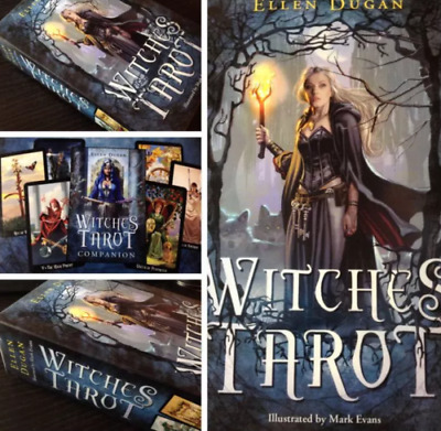 US Witches Tarot Deck Сard Rider-Waite Smith English Version 78 Cards Sets