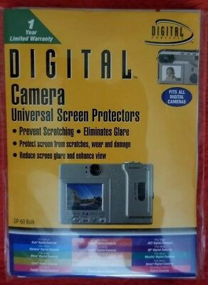 Digital Camera Universal Screen Protectors - Fits All Digital Cameras - SP-60